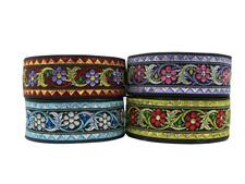 2m Borte Gewebt//Webband Aztek//Retro//Tribal  16mm Breit Viele Farben