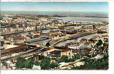 CP 50 MANCHE - Cherbourg - Panorama sur les bassins et la Plage