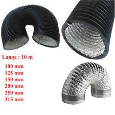 Aluflexrohr K /& S Schlauch 125 mm  3 lang  m Aluflexschlauch