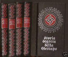 STORIA SEGRETA DELLA GESTAPO-JEAN DUMONT-ED. FERMI 1972-4 VOLUMI-COMPLETA-N11