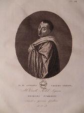 Beato Antonio Vemeto  1832 Contarini Venezia acquaforte originale Gesuato