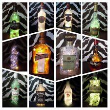 Hágalo usted mismo Lámpara De Botella arqueros Baileys Martini Chambord tabú indispensable Luces de reciclaje