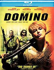Domino (Blu-ray Disc, 2008) Tony Scott, Keira Knightley, Mickey Rourke
