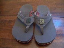 New Womens PINK TEVA ILLUM Camping/Beach/Trail Flip Flop Sandal Spider ARCH NL