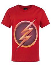DC Comics Flash TV Logo Boy's Children's Red T-Shirt Top