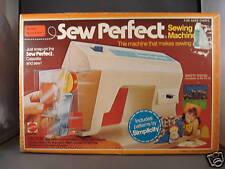 1976 Mattel Sew Perfect Sewing Machine