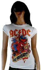 Amplified OFFICIEL AC/DC FR are you prêt diable rock star vintage tee-shirt G.