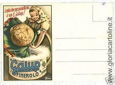 CARTOLINA PUBBLICITARIA: ZUCCA - GALUP: PINEROLO TORINO