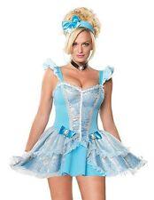 Fairytale Princess Cinderella Costume, Leg Avenue 83500, 3 Piece, Size XS S M L