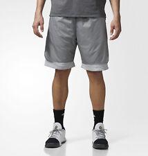Mens Adidas Harden Vol. 1 Playmaker Basketball Shorts Grey Adidas Ce7805 New