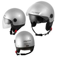 Motorradhelm Motorrad Roller Jet Helm Innensonnenblende 2 Viser SonicMoto