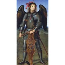 The Archangel Michael - P Perugino Medici Print