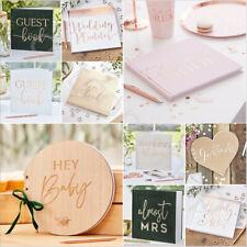 Wedding Guest Book Sign Birthday Baby Shower Anniversary Hen Party Guest Book