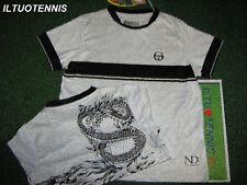T-shirt JR SergioTacchini N. Djokovic' DIMENSION -bian