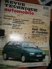 Seat IBIZA CORDOBA : revue technique RTA 567
