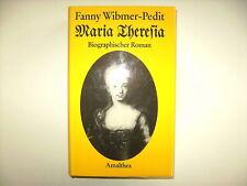 MARIA THERESIA FANNY WIBMER PEDIT BIOGRAPHIE