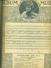 ALBUM MUSICA  AA.VV PIERRE LAFITTE 1909