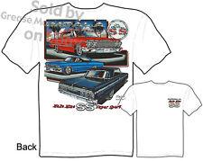 1963 1964 65 Impala T shirt Chevrolet Tee Shirts Chevy Tshirt, Sz M L XL 2XL 3XL
