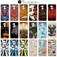 Custodia cover RIGIDA per Huawei Honor 6c Pro -  Design _1044_1061