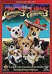 Beverly Hills Chihuahua 3: Viva La Fiesta! (Blu-ray/DVD, 2012, 2-Disc Set,...