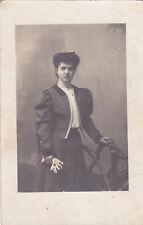 * RIMINI - Donna, fotocartolina 1908 N.P.G.