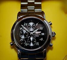 Mens INVICTA ELITE Chrono-Alarm Black Dial Chronograph Sapphire Cristal  Watch