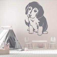 Orologio da parete  Divertimento Decorazione del muro Marke Cucciolo di Beagle c
