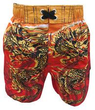 Bnwt garçons dragon chinois natation/short nautique 3-4y natation trunks summer surf neuf
