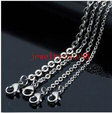 100pcs 1.5/2/2.4/3.2mm Wholesale In Bulk Silver Stainless Steel Cross DIY Choker