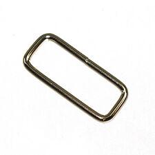 Strap Keeper Loop Nickel Plated 10 Pack