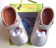 Melton  Baby-Schuhe silber Gr. 19 - 23   UVP 39,95 €  Knallerpreis