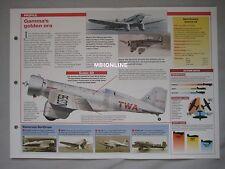Aircraft of the World Card 83 , Group 14 - Northrop Gamma