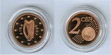 Irland  2 Cent PP/Proof  (Wählen Sie unter: 2006 - 2019)