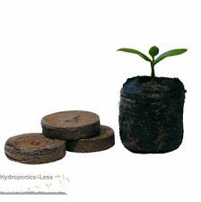Jiffy 7 Peat Plugs Hydroponics Propagation Pellets 38mm - Quantity's up to 1000
