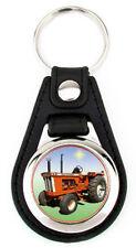 Allis Chalmers Model D21 Richard Browne Miniature Art Print Key Fob -