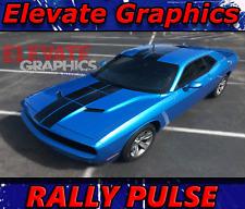 Dodge Challenger R//T SXT SE PULSE RALLY Stripes Vinyl 2008-2017 Oracal 2487