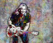 Joe Walsh Art Joe Walsh Poster, Joe Walsh of The Eagles with Free Shipping