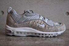 "Nike Air Max 98 Supreme ""Snakeskin"" - Sail/White-Rflct Silver-White"