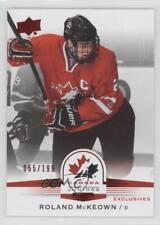 2014 Upper Deck Team Canada Juniors Exclusives 36 Roland McKeown (National Team)