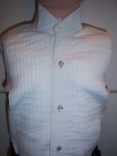 Boys White Wing Collar Formal Tuxedo Shirt