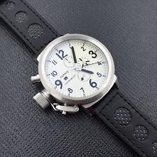 50mm Parnis Chronograph Men Watch 0S10 Quartz Wristwatch Russian Military Style