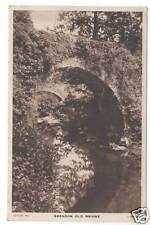 Brendon Old Bridge - Photo Postcard c1920 / Lynmouth