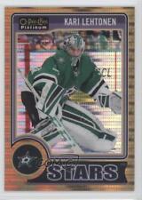 2014 O-Pee-Chee Platinum Seismic Gold #44 Kari Lehtonen Dallas Stars Hockey Card
