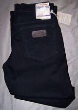 WRANGLER jeans NERO Texas Stretch Black Tg.USA 31 a 48