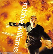 ROBBIE WILLIAMS - Millennium (UK Ltd Ed 3 Tk CD Single Pt 1/Postcards)