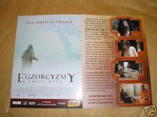 GLOSSY POLISH CINEMA FLYER - EXORCISM OF EMILY ROSE
