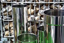 Ofenrohr Rauchrohr Edelstahl Schornstein Sanierung Rauchrohr Ø130 -Premium 0,6mm