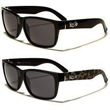 Locs Black Vintage Style Hardcore Shades Men's Fashion Sunglasses