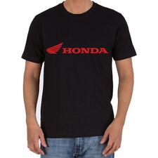 Genuine Honda CRF CBR Racing Superbike Extreme Motocross Black Men Tee T-Shirt