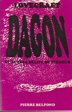 LOVECRAFT. Dagon et autres récits de terreur Belfond 69